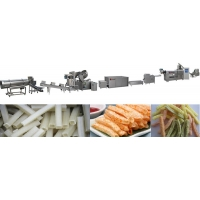 How Potato Sticks are made from extruders?