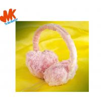 China Winter Warm Fur 3.5mm Stereo headphone, Earmuff Headphones Wth 98dB +/- 3dB on sale