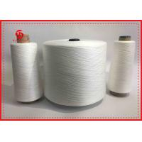 China 100% Polyester Ring Spun Sewing Thread Raw White / Grey / Dyeing Color on sale