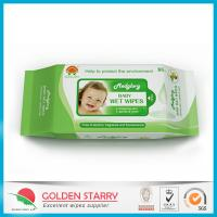 Quality Fragrance Biodegradable Baby Wet Wipes 80 Sheets with Flip Lid for sale