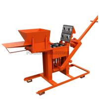 China small manual compressed earth clay soil interlocking brick making machine on sale