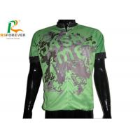 Quality Custom Sublimation Printed Cycling Jerseys For Mountain Bike Sportswear for sale