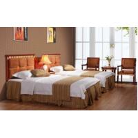 Buy cheap Hotel Bedroom Furniture E1 Mdf And Kiln-dried Rubber Solid Wood Yb-248 product