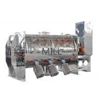 China Stable Horizontal Plough Powder Mixing Machine , Plough Powder Pepper Mixer on sale