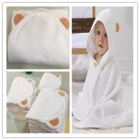 Quality China Wholesale cheap price  organic bamboo hooded baby towel hooded baby bath towel bamboo baby animal hooed towel for sale