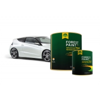 Quality Forest Acrylic Crystal White Pearl Automotive Paint Strong Adhesion for sale