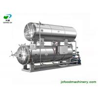 Quality 1000L water bathing type electric automatic retort sterilizer machine for meat and juice for sale