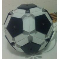 Quality PP plastic 3d POP football pattern making machine for sale