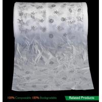Quality Film Biodegradable Compost Bags , Biodegradable Packaging Bags For Baby Breathable Back Sheet for sale