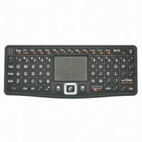Quality Wireless Keyboard with Touchpad, Backlight, QWERTY Layout and DPI Adjustment for sale