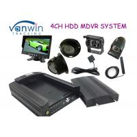 China 3G HD HDD Rugged Mobile DVR hidden security cameras system for Taxi management on sale