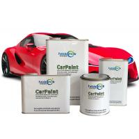 Quality Durable Metallic Red Car Paint , Two Component Varnish Epoxy Paint Thinner for sale