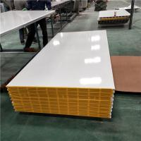 Quality 25 years firproof greywhite 1150-50-0.376mm mgo sandwich panel for clear room for sale