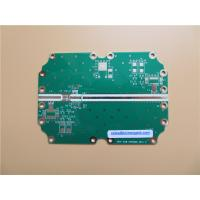 Quality 4 Layer Hybrid High Frequency PCB On RO4350B and FR-4 combined with green soldermask for sale