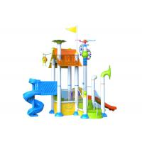 Quality Commercial Water Park Equipment / Water Playground Equipment Customized Dimension for sale