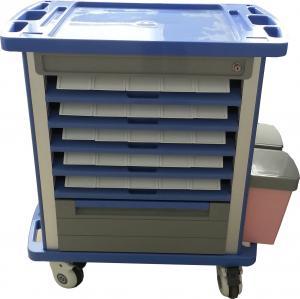 China ABS Medical Crash Cart/Hospital Furniture on sale