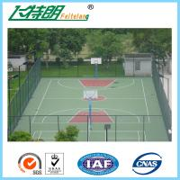 Quality Athletic Court PU Sports Flooring For Basketball Court / Tennis Court for sale