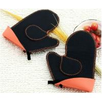 Quality Heatproof Kitchen Grips Oven Mitts for sale