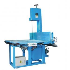 Buy cheap High Accuracy Vertical Sponge Foam Cutting CNC Machine For Special Shape Slicing Foam product