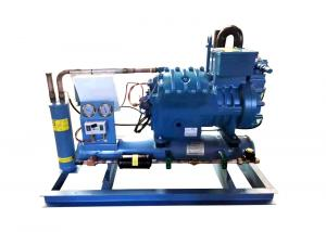 China PLC Control  Semi Hermetic Screw Type Chiller Unit on sale