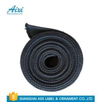 Quality Black Fabric Casual Belt 100% Woven Printing Cotton Webbing Straps for sale