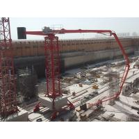 Quality Stable Operation Walking Concrete Placing Boom 36m Boom Radius Minimized Impact Force for sale