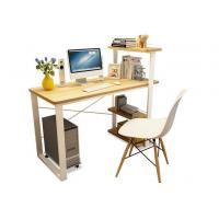 Buy cheap Household Office Desktop Computer Desk Bookshelf Combined Learning Table from wholesalers