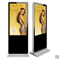 Quality Standee LCD Advertising Display Wifi Digital Signage Horizontal Screens Android TV for sale