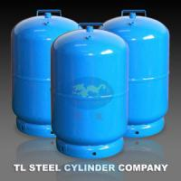 Quality Portable BBQ 12L Cooking Gas Cylinder EN1442 For Camping , Gas Bottle for sale