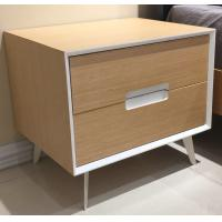 Buy cheap Metal supporting leg storage cabinet, wood structure wtih 2 drawers product