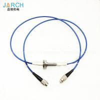 Buy cheap 2000RPM Fiber Optic Rotary Joint with electronic slip ring FC Connector from wholesalers