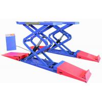 Quality Brake and drive-train work hydraulic platform lift scissor hoist for car for sale