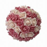 Quality Artificial Rose Flower Ball for Home Decoration for sale