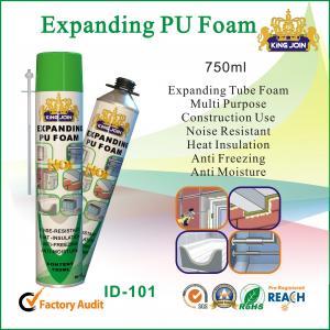 Quality Eco-Friendly Pu Foam Sealant , High Density Polyurethane Foam Spray Insulation for sale
