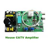 China Good Quality Indoor House CATV Amplifier booster with Philps Amplifier Module bi-direction return path on sale