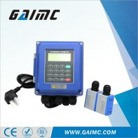 China GUF120-W Wall mounted clamp on waste water ultrasonic flow meter price on sale