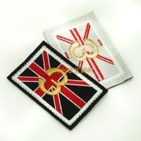Quality Individual Iron On Backing Clothing Embroidered Patches Custom Design Skin Friendly for sale