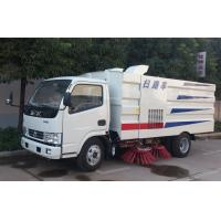 Quality Automatic Garbage Road Sweeper Truck 3ton - 4Ton With Dumping System for sale