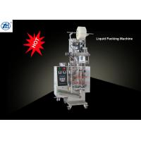 China 304 Stainless Steel Auto Juice Pouch Packing Machine , Liquid Filling Packing Machine on sale