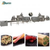 Buy cheap 2018 New condition CE dog snacks food extrusion equipment 35-100 KW Power from wholesalers