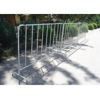 Buy cheap Hot Dipped Temporary Mesh Fence For Crowd Control OEM / ODM Acceptable from wholesalers