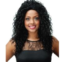 Quality artificial hair #1/#350 synthetic lace wig for sale