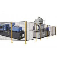 Quality .5 X 1.5 Inch 8 Gauge Wire Mesh Machine Guarding Panels 4 Feet Width Assembled for sale