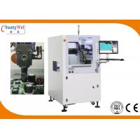 China Double Nozzle PCBA Conformal Coating Machine With 0.02mm Precision on sale