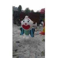 Quality Blue Water Playground Toys Clown Monster Spray Fiberglass For Children for sale