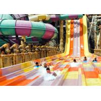 Quality Anti - Static High Speed Slide Beautiful Rainbow Color For Water Sports Park for sale