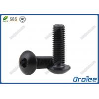 China Black Stainless Steel Button Head Socket Cap Screw on sale
