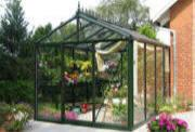 Quality greenhouse with Insulated bear heavy snow luxurious tempered & float glass glazing plan for sale