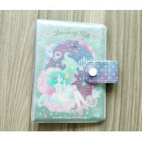 China Luxury Travel Card Holder / Glittering PVC Notepad Or Diary Book Protective Cover on sale