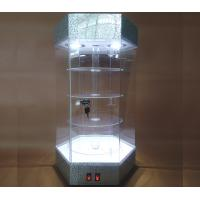 Quality Fashionable Jewelry Display Equipment Jewelry Display Tower With Spotlight Light for sale